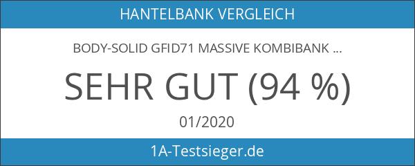 Body-Solid GFID71 Massive Kombibank