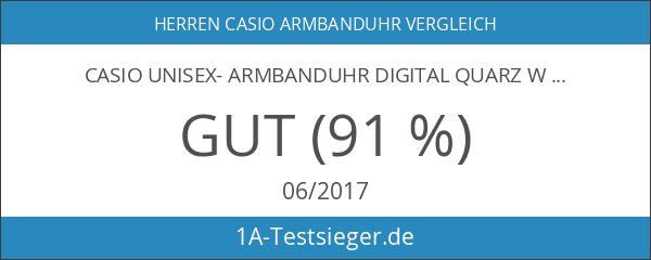 Casio Unisex- Armbanduhr Digital Quarz W-800H-1AVES