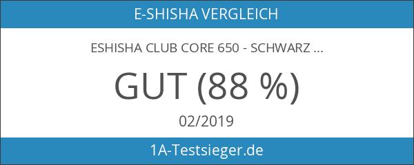 eShisha Club CORE 650 - Schwarz