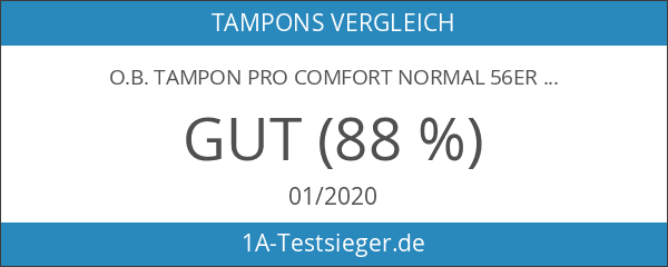 o.b. Tampon Pro Comfort normal 56er