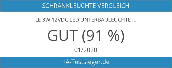LE 3W 12VDC LED Unterbauleuchte