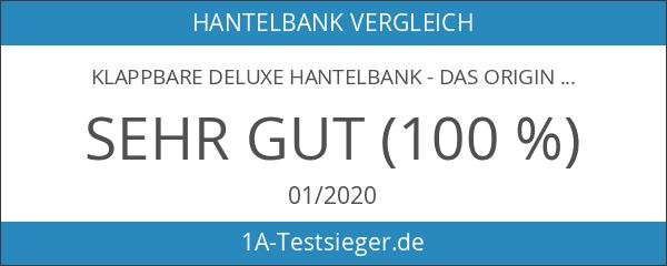 Klappbare Deluxe Hantelbank - Das Original von Profihantel