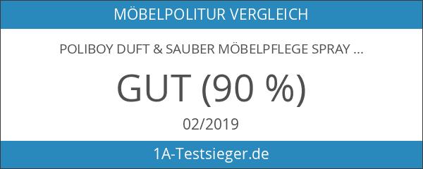 Poliboy Duft & Sauber Möbelpflege Spray Orchidee 300ml