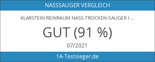 Klarstein Reinraum Nass-Trocken-Sauger Industriesauger Staubsauger