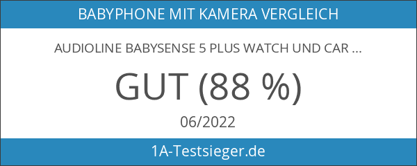 Audioline Babysense 5 plus Watch und Care V90 - Atmungs-