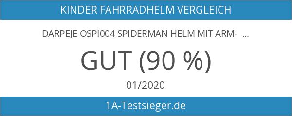 Darpeje OSPI004 Spiderman Helm mit Arm- und Beinschützern