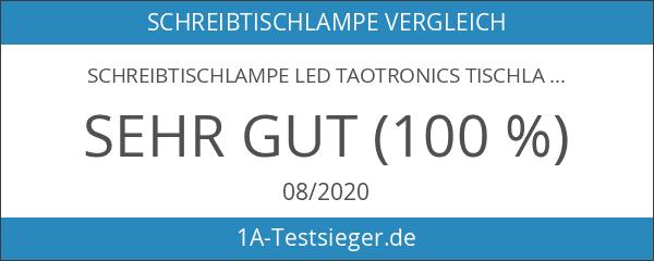 Schreibtischlampe LED TaoTronics Tischlampe Tischleuchte mit 3 Lichtmodi