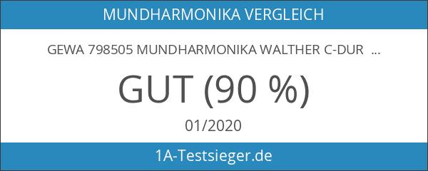 Gewa 798505 Mundharmonika Walther C-Dur Modell Richter 20 Stimmen
