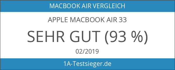Apple MacBook Air 33