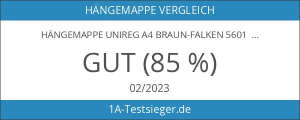 Hängemappe Unireg A4 braun-Falken 5601 25 Stück