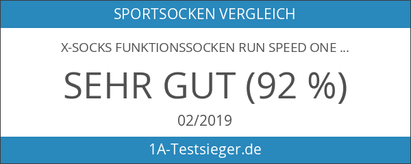 X-Socks Funktionssocken Run Speed One