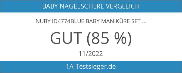Nuby ID4774BLUE Baby Maniküre Set