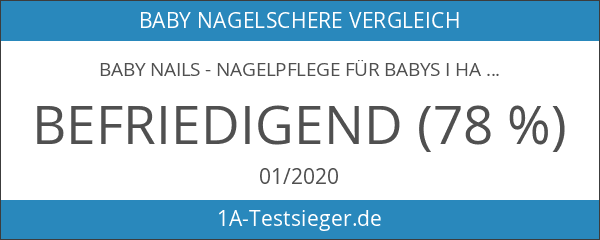 Baby Nails - Nagelpflege für Babys I Handfreies Babypflege-Set für