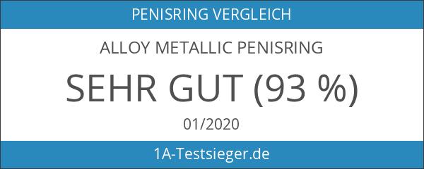Alloy Metallic Ring - XL - Penisring