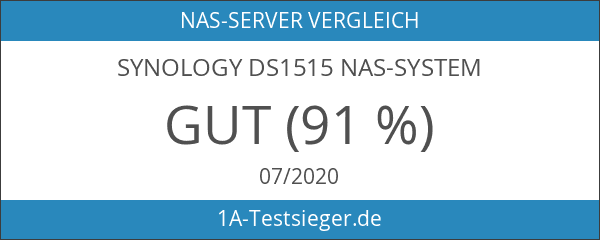 Synology DS1515 NAS-System