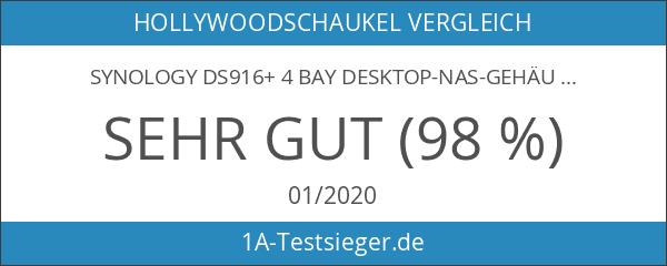 Synology DS916+ 4 Bay Desktop-NAS-Gehäuse