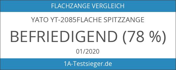 Yato yt-2085flache Spitzzange