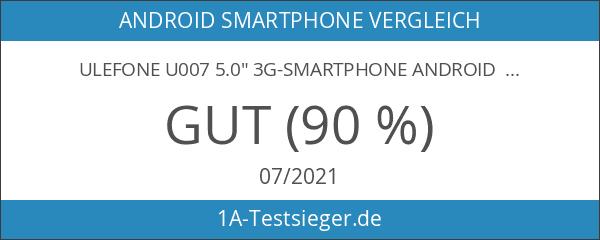 """Ulefone U007 5.0"""" 3G-Smartphone Android 6.0 MTK6580A Quad Core HD"""