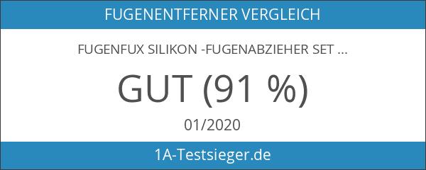 Fugenfux Silikon -Fugenabzieher Set