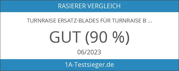 TurnRaise Ersatz-Blades für TurnRaise bald Head-Rasierer.