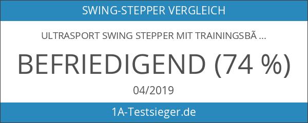 Ultrasport Swing Stepper mit Trainingsbändern