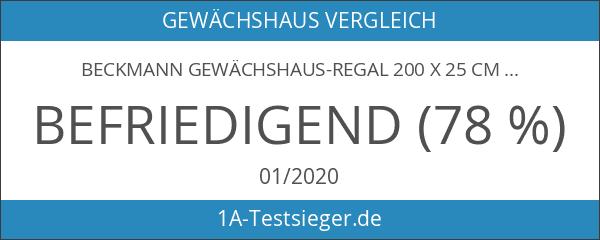 Beckmann Gewächshaus-Regal 200 x 25 cm