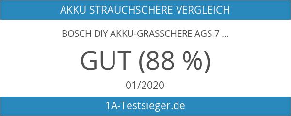 Bosch DIY Akku-Grasschere AGS 7