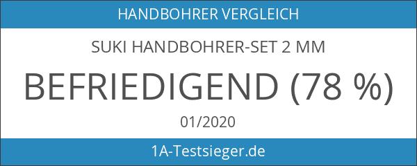 suki Handbohrer-Set 2 mm