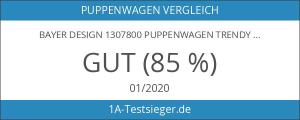 Bayer Design 1307800 Puppenwagen Trendy