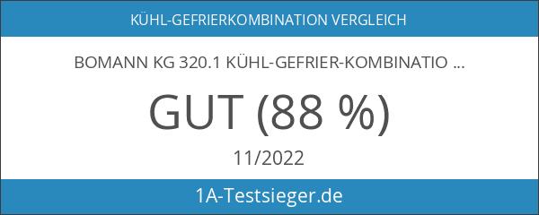 Bomann KG 320.1 Kühl-Gefrier-Kombination
