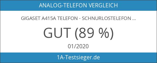 Gigaset A415A Telefon - Schnurlostelefon