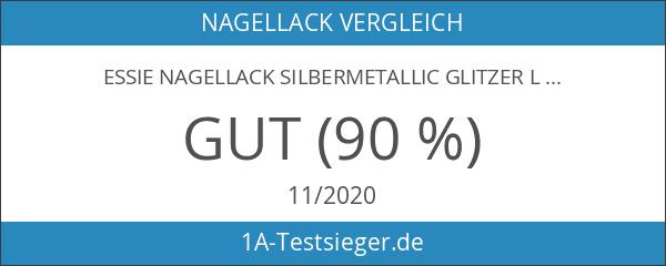 essie Nagellack Silbermetallic Glitzer Luxuseffects set in stones Nr. 278