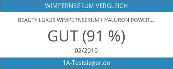 BEAUTY LUXUS WIMPERNSERUM HYALURON POWER BOOSTER 3 ml