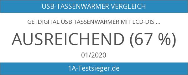 getDigital USB Tassenwärmer mit LCD-Display