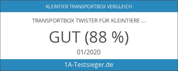Transportbox Twister für Kleintiere