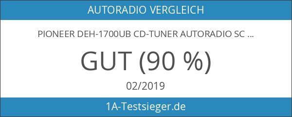 Pioneer DEH-1700UB CD-Tuner Autoradio schwarz