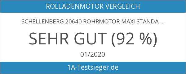 Schellenberg 20640 Rohrmotor Maxi STANDARD 40 Rolladenmotor