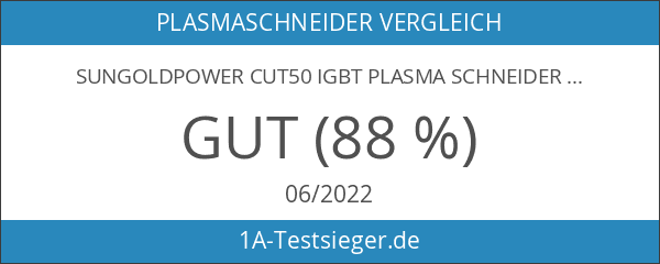 SUNGOLDPOWER CUT50 IGBT Plasma Schneider 50 Amp schneidet bis 15