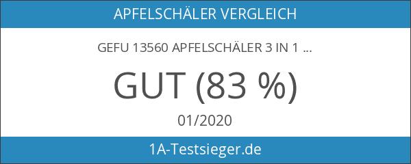 Gefu 13560 Apfelschäler 3 in 1