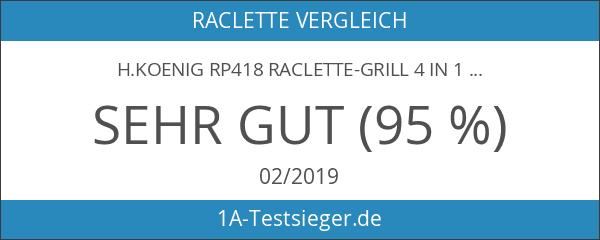 H.Koenig RP418 Raclette-Grill 4 in 1