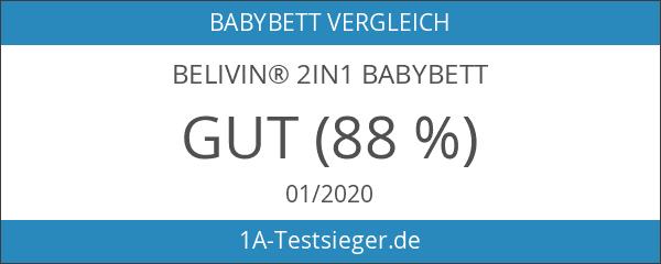 Belivin® 2in1 Babybett