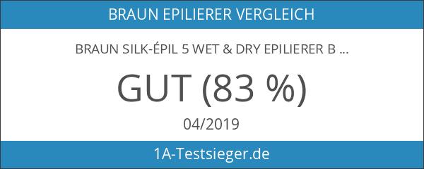 Braun Silk-épil 5 Wet & Dry Epilierer Blau