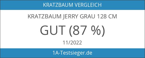 Kratzbaum JERRY grau 128 cm