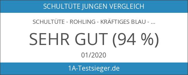 Schultüte - Rohling - kräftiges BLAU - 85 cm -