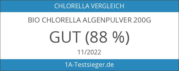 Bio Chlorella Algenpulver 200g