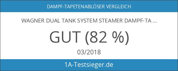 Wagner Dual Tank System Steamer Dampf-Tapetenablöser