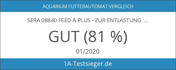 """sera 08840 feed A plus - Zur Entlastung beschäftigter """"Fischeltern"""""""