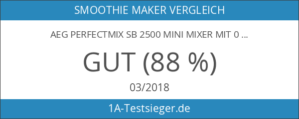 AEG PerfectMix SB 2500 Mini Mixer mit 0