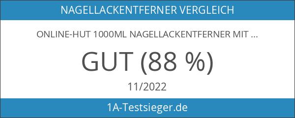 online-hut 1000ml Nagellackentferner mit Citrusduft