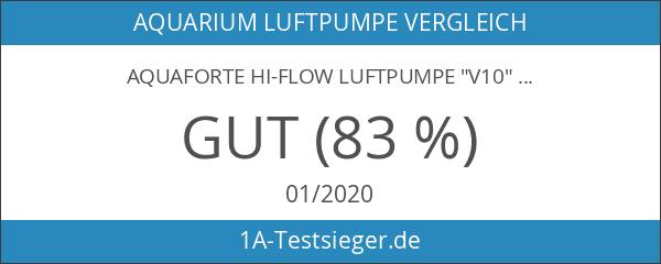 "Aquaforte Hi-Flow Luftpumpe ""V10"""